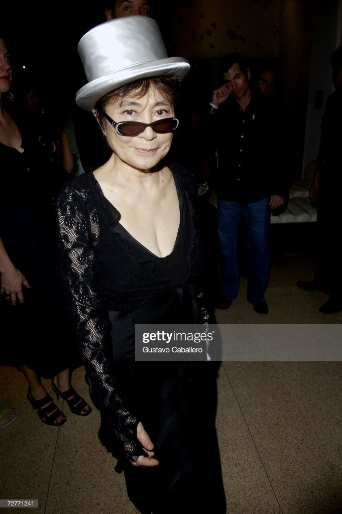 Art Basel Miami 2006 - Yoko Ono Party At Sagamore