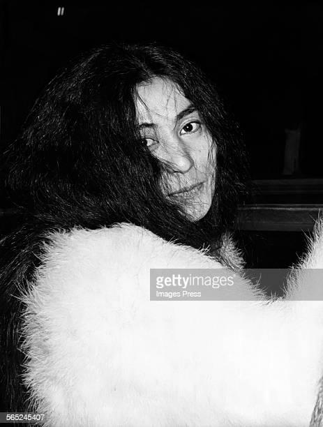Yoko Ono circa 1970s in New York City