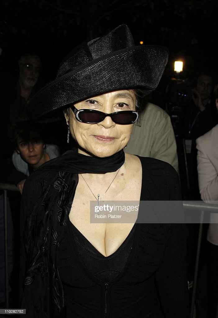 Yoko Ono during Cocktail Party for TRH The Prince of Wales and The Duchess of Cornwall at the Museum of Modern Art - November 1, 2005 at Museum of Modern Art in New York City, New York, United States.