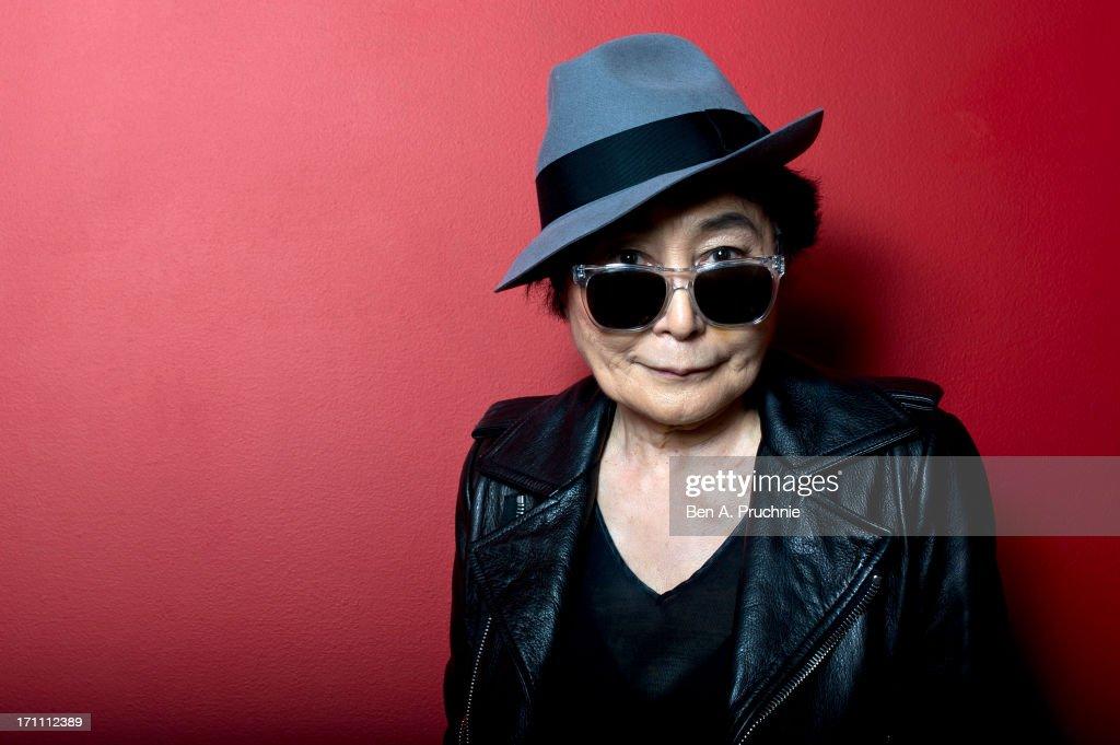 Yoko Ono Introduces Screening Of 'GasLand' : News Photo