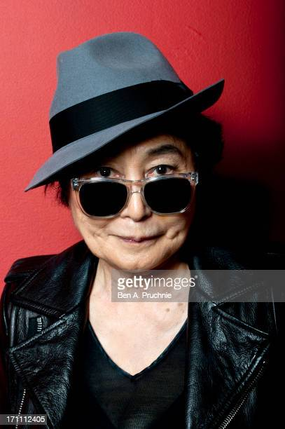 Yoko Ono introduces a special screening of 'GasLand' as part of the BFI Screen Epiphanies series at BFI Southbank on June 22 2013 in London England
