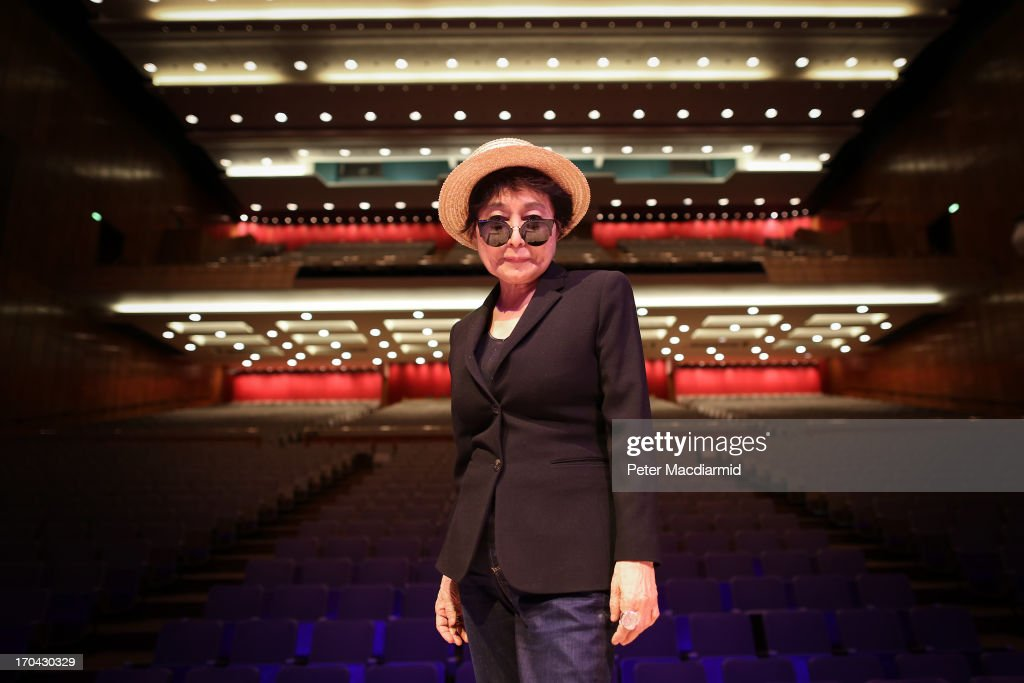 Yoko Ono launches The meltdown Festival at the Royal Festival Hall on June 12, 2013 in London, England. The Festival which runs from 14-23rd June 2013 will open with Yoko Ono Plastic Ono Band at the Southbank Centre.