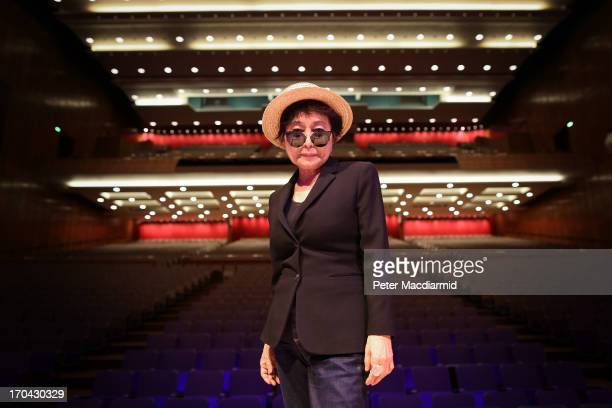 Yoko Ono launches The meltdown Festival at the Royal Festival Hall on June 12 2013 in London England The Festival which runs from 1423rd June 2013...