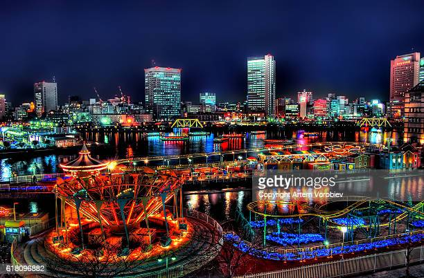 Yokohama at night, Christmas time