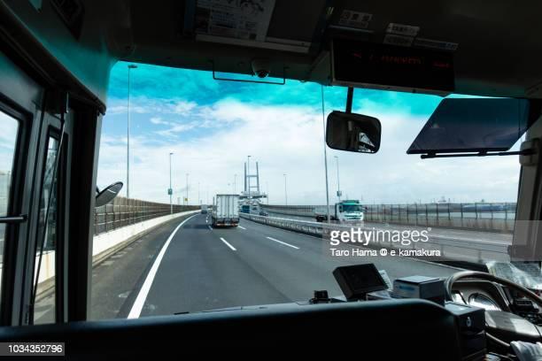 Yokohama Bay Bridge in Japan