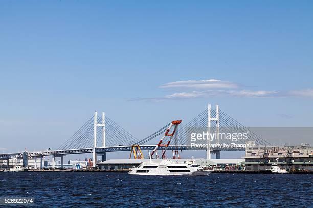 Yokohama Bay bridge(Daikoku bridge)