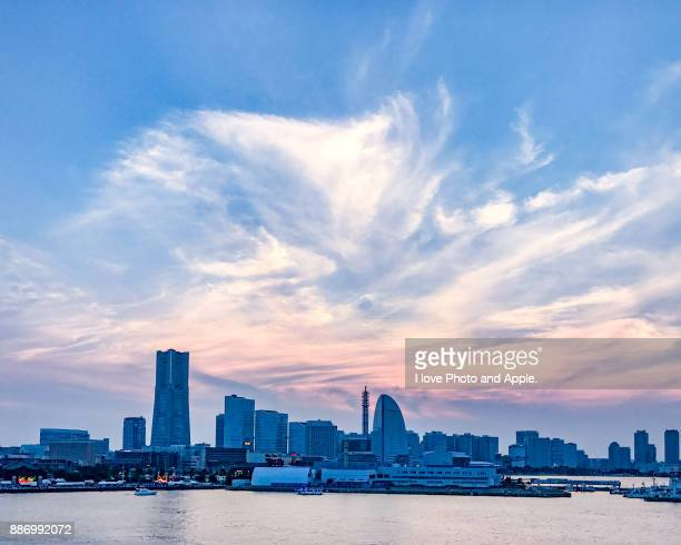 Yokohama city view