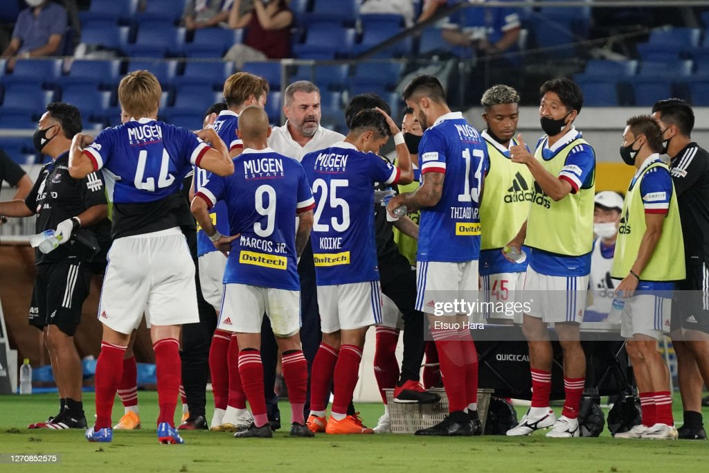 Yokohama F.Marinos v Kawasaki Frontale - J.League Meiji Yasuda J1 : ニュース写真