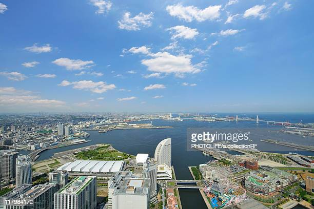 Yokohama Harbour Seen from Yokohama Landmark Tower