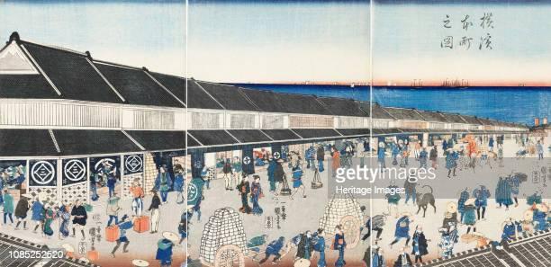 Yokohama Honcho no zu 1860 Private Collection