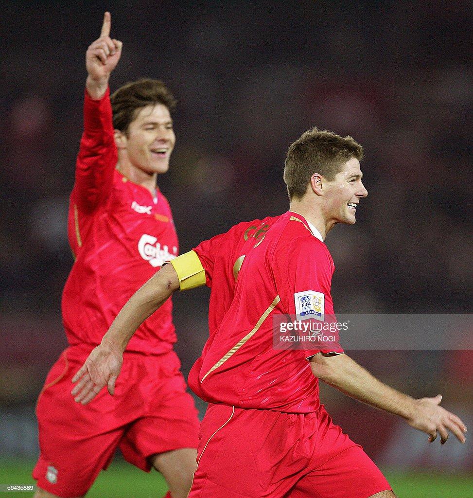 England's Liverpool FC captain and midfi : News Photo