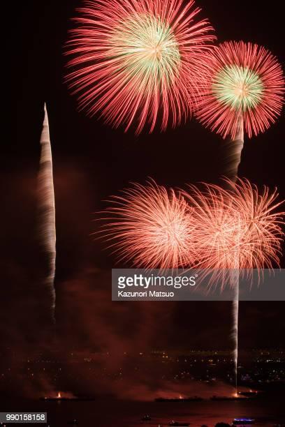 Yokohama Kanagawa Shimbun Fireworks Festival
