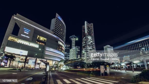 yokohama landmark tower - boudiaf photos et images de collection