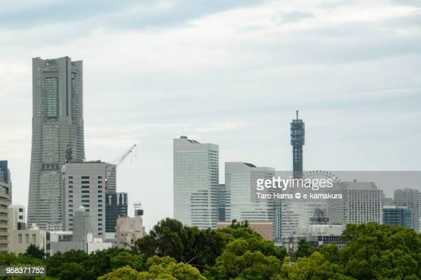 Yokohama Minato Mirai in Yokohama city in Kanagawa prefecture in Japan