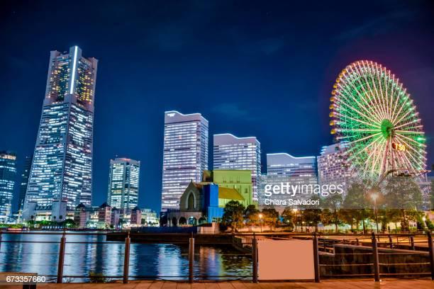 yokohama minato mirai, japan - yokohama stock pictures, royalty-free photos & images