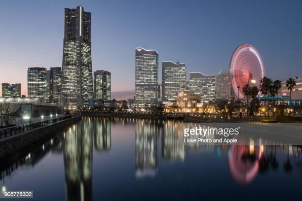 Yokohama Minatomirai Twilight
