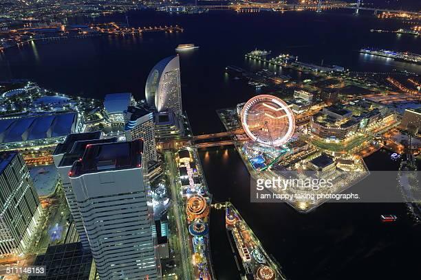 Yokohama night view.