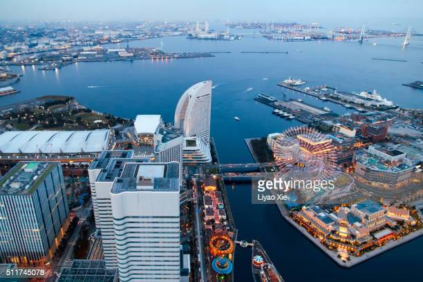 yokohama - liyao xie stock pictures, royalty-free photos & images