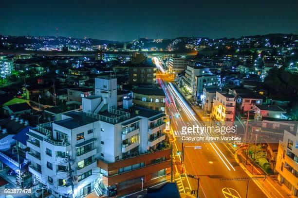 Yokohama, Sengencho at night