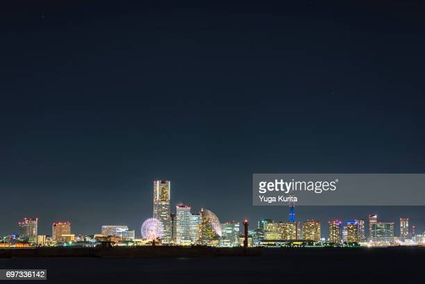 Yokohama Skyline at Night