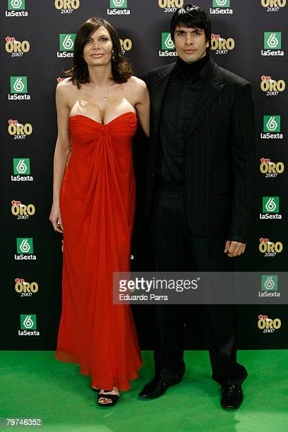 Yola Berrocal and guest attends the TP Magazine Awards at IFEMA Congress Palace on February 13 2008 in Madrid Spain