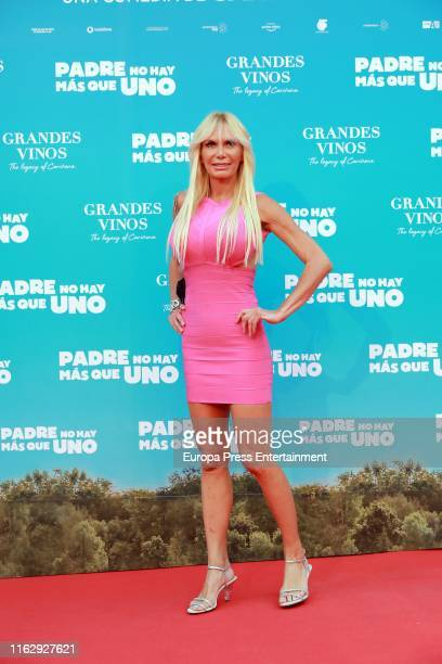 Yola Berrocal attends Padre No Hay Mas Que Uno Madrid Premiere at Callao Cinema on July 18 2019 in Madrid Spain