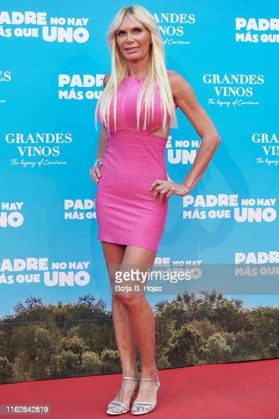 Yola Berrocal attends 'Padre No Hay Mas Que Uno' Madrid Premiere on July 18 2019 in Madrid Spain