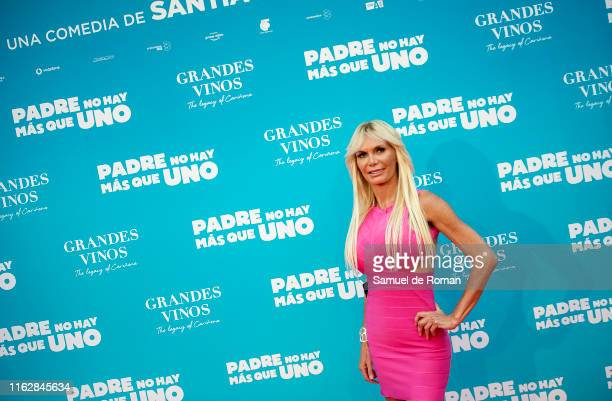 Yola Berrocal attends Padre No Hay Mas Que Uno Madrid Premiere on July 18 2019 in Madrid Spain