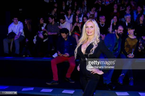 Yola Berrocal attends the Duarte fashion show during the Mercedes Benz Fashion Week Autumn/Winter 20192020 at Ifema on January 27 2019 in Madrid Spain