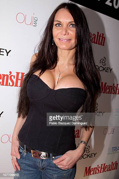 Yola Berrocal attends the Men's Health New Face Contestant 2010 at Qui Mad on December 20 2010 in Madrid Spain