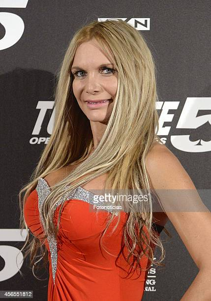 Yola Berrocal attends the 'Torrente 5 Operacion Eurovegas' premiere at Kinepolis cinema on October 2 2014 in Madrid Spain
