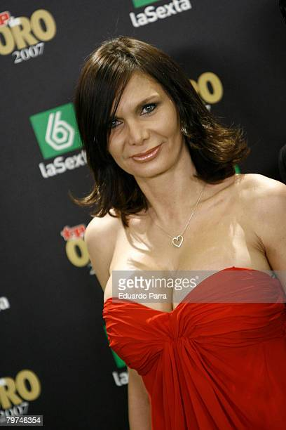 Yola Berrocal attends the TP Magazine Awards at IFEMA Congress Palace on February 13 2008 in Madrid Spain