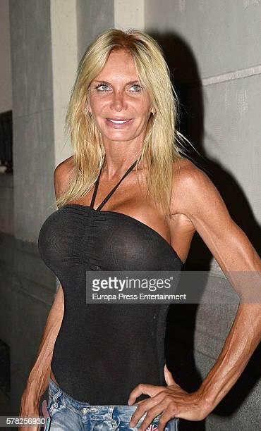Yola Berrocal is seen on July 16 2016 in Madrid Spain