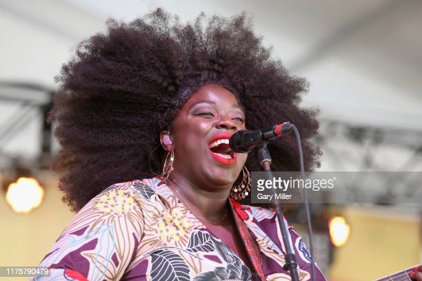 Yola performs in concert during week two of the ACL Music Festival at Zilker Park on October 13 2019 in Austin Texas