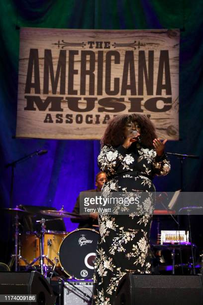 Yola performs onstage during the 2019 Americana Honors Awards at Ryman Auditorium on September 11 2019 in Nashville Tennessee