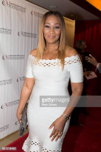 Yolanda Adams attends CBC Spouses 21st Annual Celebration of Leadership in the Fine Arts at Walter E Washington Convention Center on September 20...