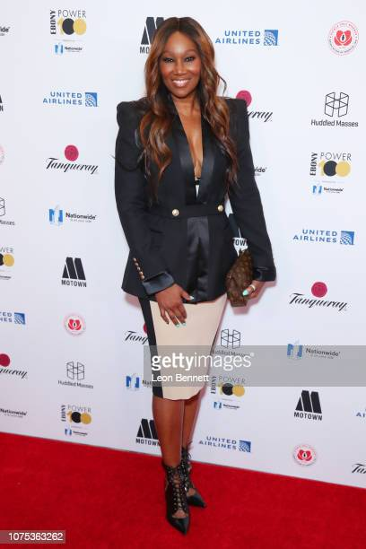 Yolanda Adams attends Ebony Magazine's Ebony's Power 100 Gala at The Beverly Hilton Hotel on November 30 2018 in Beverly Hills California