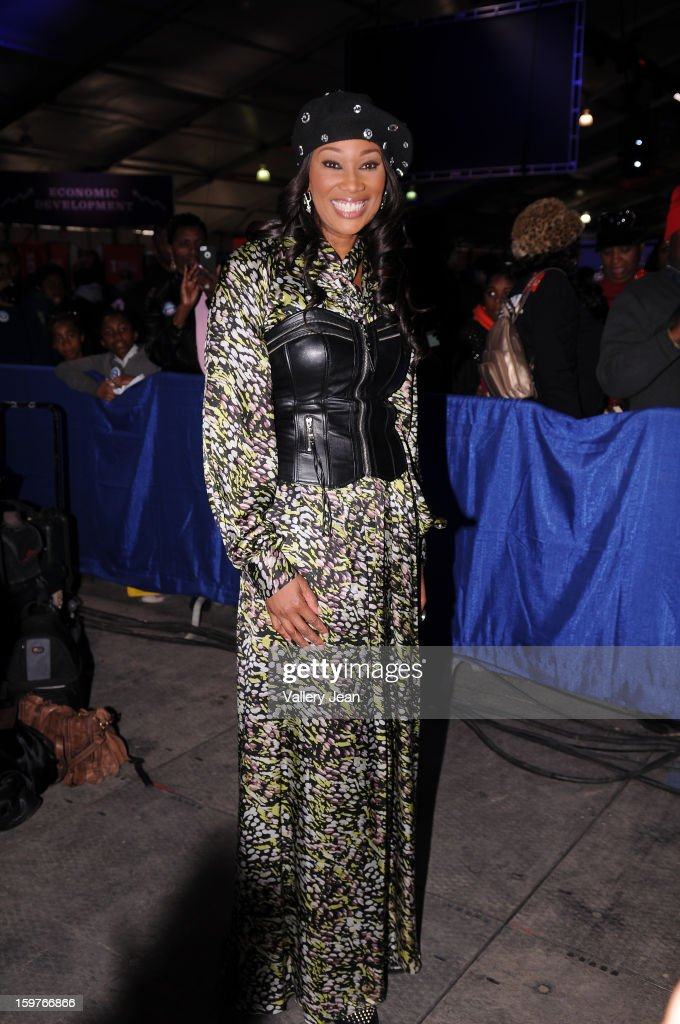 Yolanda Adams attends Presidential National Day Of Service at National Mall on January 19, 2013 in Washington, DC.