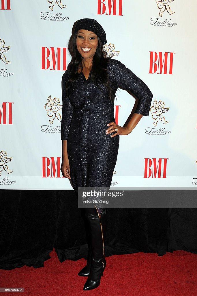 Yolanda Adams attends the 14th annual BMI Trailblazers of Gospel Music Awards at Rocketown on January 18, 2013 in Nashville, Tennessee.