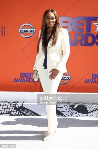 Yolanda Adams attends the 2018 BET Awards at Microsoft Theater on June 24 2018 in Los Angeles California