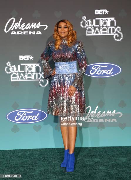 Yolanda Adams attends the 2019 Soul Train Awards at the Orleans Arena on November 17 2019 in Las Vegas Nevada
