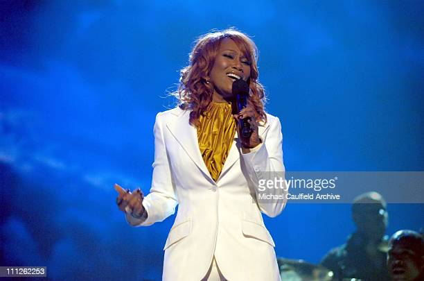 Yolanda Adams during 6th Annual BET Awards Show at Shrine Auditorium in Los Angeles CA United States