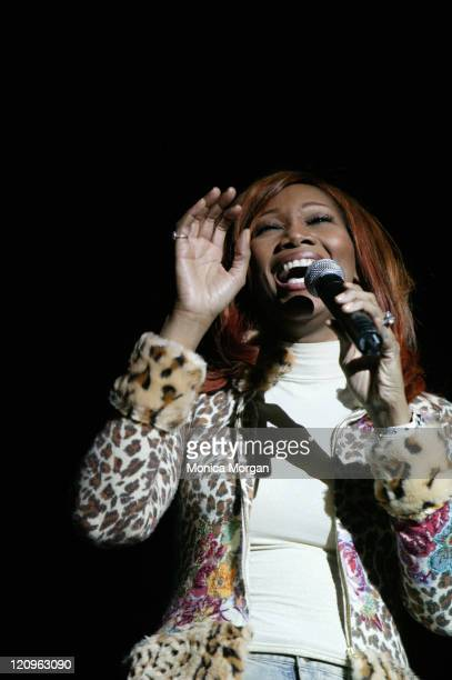 Yolanda Adams during Comcast Presents Yolonda Adams 'Today Tour' February 10 2006 at Greater Grace Temple in Detroit Michigan United States