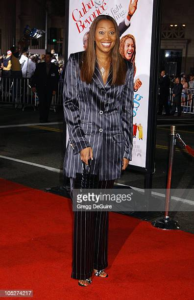 Yolanda Adams during The Fighting Temptations Premiere at Mann's Chinese Theatre in Hollywood California United States