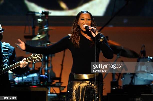 Yolanda Adams during TNT'Come Together' A Night for John Lennon's Words Music Dedicated to New York City and its People Show at Radio City Music Hall...