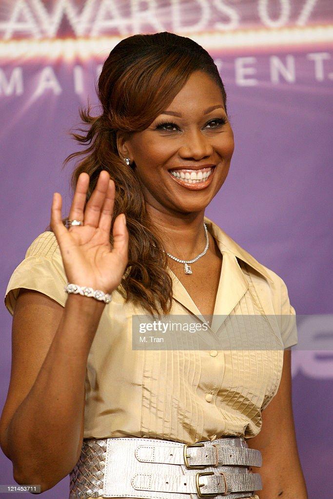 Yolanda Adams, performer during BET Awards 2007 - Press Room at Shrine Auditorium in Los Angeles, California, United States.