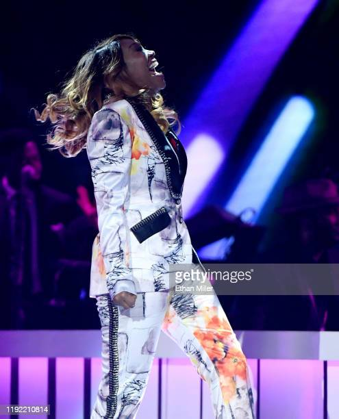 Yolanda Adams performs during the 2019 Soul Train Awards presented by BET at the Orleans Arena on November 17 2019 in Las Vegas Nevada