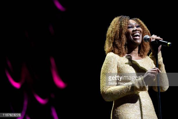 Yolanda Adams performs during the Recording Academy Texas Chapter's 25th Anniversary Gala held at the Moody Theater on July 18 2019 in Austin Texas