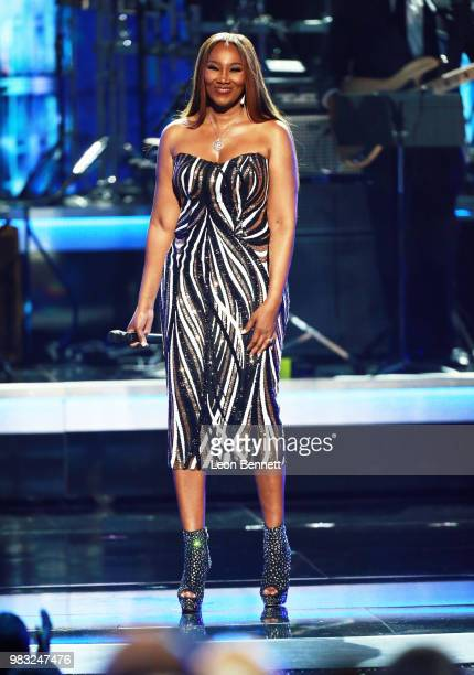 Yolanda Adams performs onstage at the 2018 BET Awards at Microsoft Theater on June 24 2018 in Los Angeles California