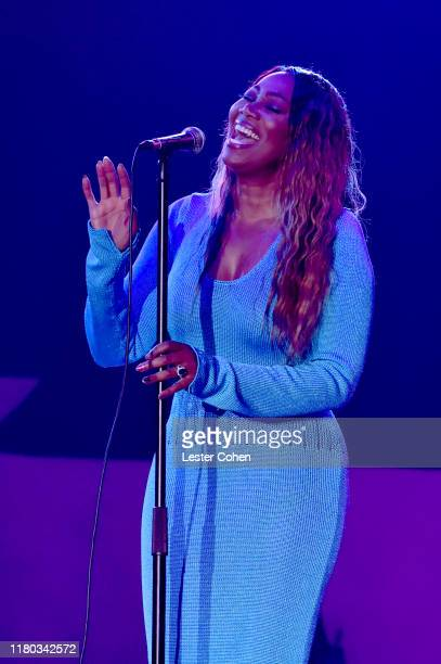 Yolanda Adams performs onstage during City Of Hope Spirit Of Life Gala 2019 on October 10 2019 in Santa Monica California
